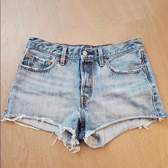 Vintage Levi's 501 denim shorts